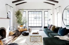 Step inside a Spanish-style family home with a classic Southern California feel. Major design inspiration ahead.
