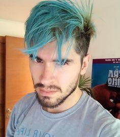 """y dije """"y si ahora soy azul?"""" hahaha ando experimentando, ya no soy sullivan, ahora soy... (déjalo en los comentarios) en fin, algún día madurare, por ahora no!"""