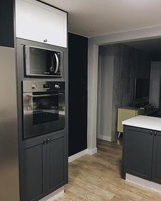 Kitchen tower (to amando a minha cozinha grafite) #kitchen #cozinha #reforma #apartment #apartamento