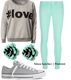 cool clothes for middle school girls | Cute Outfits For Middle School Polyvore Quick middle school outfit