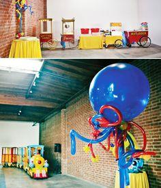Train Birthday Party + Balloon Extravaganza! // Hostess with the Mostess®