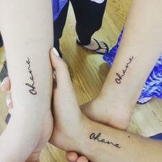 15 Tattoos For Sisters That Go Above And Beyond An Infinity Symbol Or A Heart