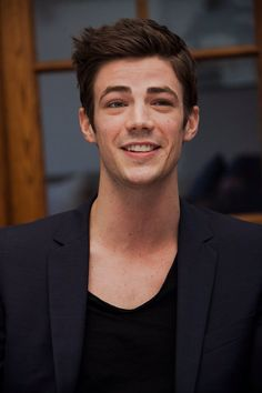 grant gustin could kiss me in front of my family and I wouldn't even be embarrassed