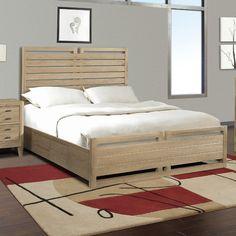 Cresent Furniture Hampton Storage Slat Bed