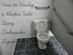 Wonder Nice Photos: Secret Plumber Tip: How To Unclog Toilet With Dishwasher Soap