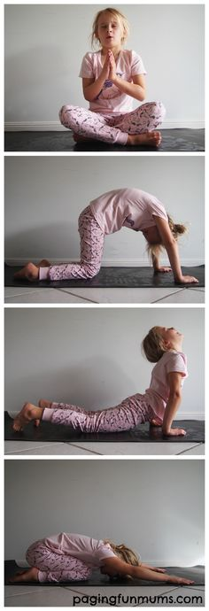 Kids Bedtime Yoga Routine - https://www.youtube.com/watch?v=4lfjNAXGPzA