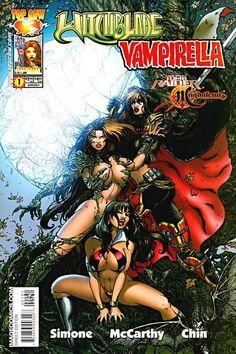 Tomb Raider/ Witchblade/ Magdalena/ Vampirella (Top Cow/Image Comics, 2005) #1 Cover C