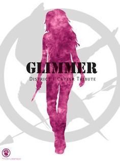 The Hunger Games - Glimmer Glimmer Hunger Games, Hunger Games Fandom, Hunger Games Catching Fire, Hunger Games Trilogy, Districts Of Panem, In Theaters Now, Fox Face, Mocking Jay, Suzanne Collins