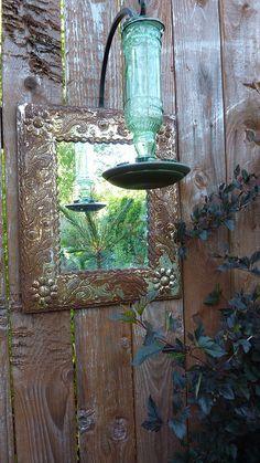 Mirror in the Garden | Flickr - Photo Sharing!