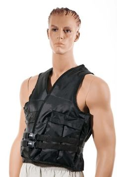 Weighted Vest UN-FILLED -Shihan-MAX (Sold Without Weights) $34.99 (56% OFF)