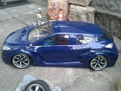 Renault Megane Sport Karosse  Breite 200mm Radstand 257mm  Zubehör LED Ligtbuckets Renngitter Ausgeschnittene Lufthutze Dach E-bay ddengineandmore Super Modelle Super Preise