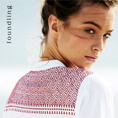 ..embroidered folk tunic in wild cherry..delicious! www.foundling.com.au