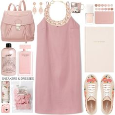 // simply spring // by sinesnsingularities on Polyvore featuring polyvore, fashion, style, 19th Street, Coast, DIANA BROUSSARD, Narciso Rodriguez, philosophy, Christian Dior and Deborah Lippmann