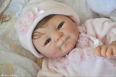 Sweet Reborn COCO MALU by Eliza Marx OOAK Baby Girl Doll
