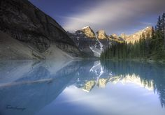 Dawn of Moraine lake 2 by  TOOTOOIMAGE on 500px