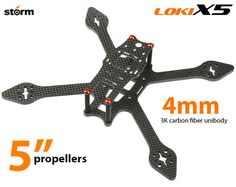 Storm Racing Drone Loki-X5 Frame Set (5
