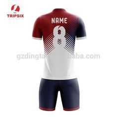 Source Custom Adult Cut Sew Sport Soccer Jersey Uniform Set With Collar on  m.alibaba 091a3f9ec