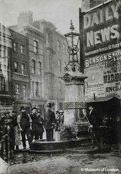 The Aldgate Pump, 1880