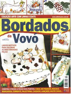 Bordado da Vovó - Edil Menezes - Álbuns da web do Picasa