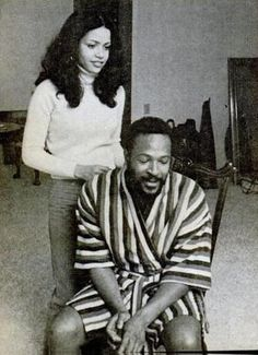 Marvin Gaye and Janis Gaye Foreign Celebrities, Tamla Motown, Soul Artists, Soul Singers, Tamar Braxton, Marvin Gaye, Wedding Quotes, Celebrity Babies, Black History