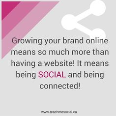 How SOCIAL are you on social media? Having a website or a placeholder facebook page is not enough in 2016. Brands need to be interactive and realize that people want to by from other PEOPLE! So - give your brand a personality and sell your stories not your products.  #socialmediatips #teachmesocial #socialmedia #marketing #smallbusiness #digitalmedia #personalbranding #advertising #pr #getsocial #lovemyjob #entrepreneur #advice