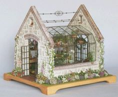 Well This is Ideal - A Terrarium & A Miniature Greenhouse!