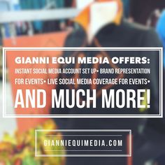 Have you seen all of the services Gianni Equi Media Offers? Did you know Gianni Equi Media can come run your social media accounts just for  an event? Visit gianniequimedia.com for more info!! #GEM #EquestrianSocialMedia #EquestrianPromotions #GianniEquiMedia #70thpnhs @pa_nationalhs #Fabbri @fabbriboots
