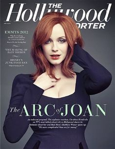 Christina Hendricks - The Hollywood Reporter Magazine Cover [United States] (15 June 2012)