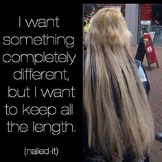 So let me get this straight u want what?? #Lol #nailedit #yasss #truet #hairstylistproblems #doit #timeforachange #weave #girlbye