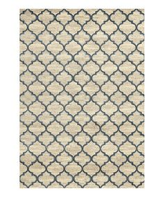 Another great find on #zulily! Ivory Crossroads Rug #zulilyfinds