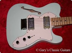 #Fender #Telecaster #Thinline #1975 #Guitar #Guitars #vintageguitars