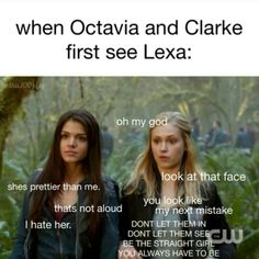 True story | The 100 / Octavia Blake / Clarke Griffin / Lexa