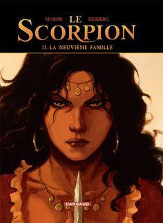 Le Scorpion tome 11 : la neuvième famille Scénario : Stephen Desberg, dessin : Enrico Marini #Dargaud #BD #Scorpion #Marini