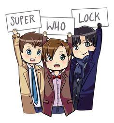Superwholock rp? I need a Sam. I'm the Doctor. Check out our Teen Programs for fun stuff like this!