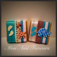 Wrapped Belgian Chocolates Safari theme