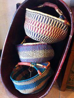 Elephant grass baskets, Ghana Ghana, Straw Bag, Baskets, Elephant, Bags, Handbags, Hampers, Basket, Elephants