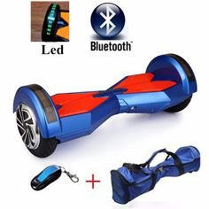 36v 4.4ah Lithium Battery 8 inch Bluetooth Hover Board Two Wheel Self Balancing Scooter Unicycle Hoverboard Electric Unicycle