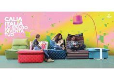 Numerose e nuove proposte in pelle e in tessuto firmate Calia Italia protagoniste al Salone Internazionale del Mobile 2013