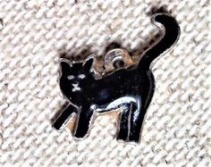 Charms Bracelet Anhänger, Bettelarmband, Silber, Chat Noir Charmed, Brooch, Jewelry, Cat Breeds, Silver, Jewlery, Jewerly, Brooches, Schmuck