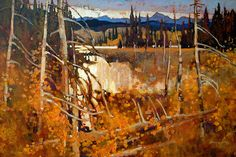 A collection of Paintings by Canadian Artist Brian Atyeo.
