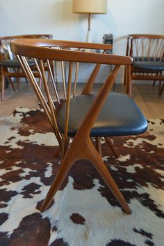 Mid Century Danish Modern Helge Sibast No. 8 by TheModernVault, $1200.00 Have you seen this, @Erin Drumgoole ?