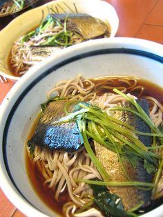 Toshikoshi-soba (Buckwheat Noodles Eaten on New Year's Eve) 年越しそば
