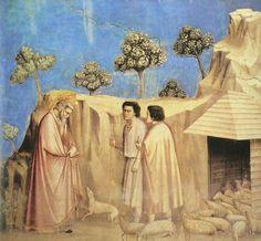 Giotto di Bondone, Joachim among the Shepherds on ArtStack #giotto-di-bondone #art