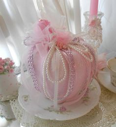 Pink Princess Sparkling Pink Shabby Chic by Oliviasromantichome