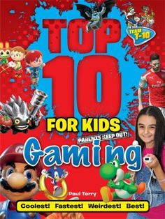 Which X-box games are the best in the business? What game are your friends all dying to try? What character will give you the best advantages? Find out the answers to all these and more in this jam packed book, full of checklists for children to try out with their friends. Easy to follow, funny and a playground essential, Top 10 for Kids: Gaming is a must-have for any kid who likes a bit of competition!