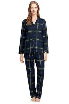 Brooks Brothers Blackwatch Plaid Flannel Pajamas, $98.50, available at Brooks Brothers.