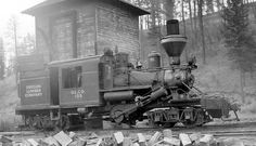 Climax Locomotive | Climax locomotive of the Oregon Lumber Company. Photographed at ...