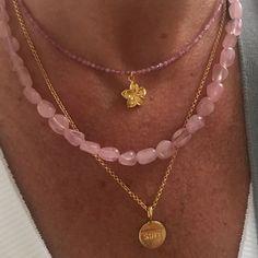 Diy Necklace, Fashion Necklace, Fashion Jewelry, Summer Necklace, Summer Jewelry, Gemstone Necklace, Cute Jewelry, Jewelry Accessories, Jewlery