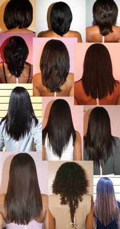 Here are some of my #naturalhair straightened (-1curly) length checks from 2007 to today:2012.