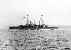 USS Rhode Island US Navy Battleship War Ship